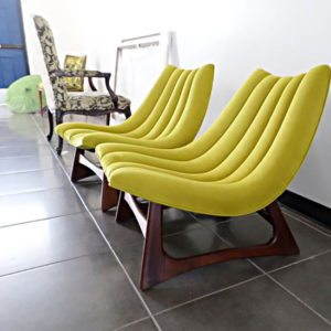 Scandinavian Slipper Chairs
