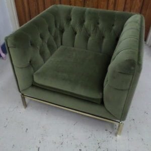 1970's Tufted Stowidavis Chair